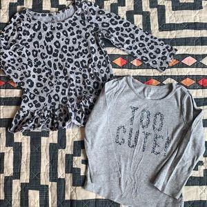 Bundle 3T Girls Long Sleeve T-shirts baby GAP